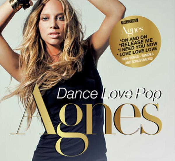 Agnes<br><span>Dance Love Pop UK Album (mastering and editing)</span>