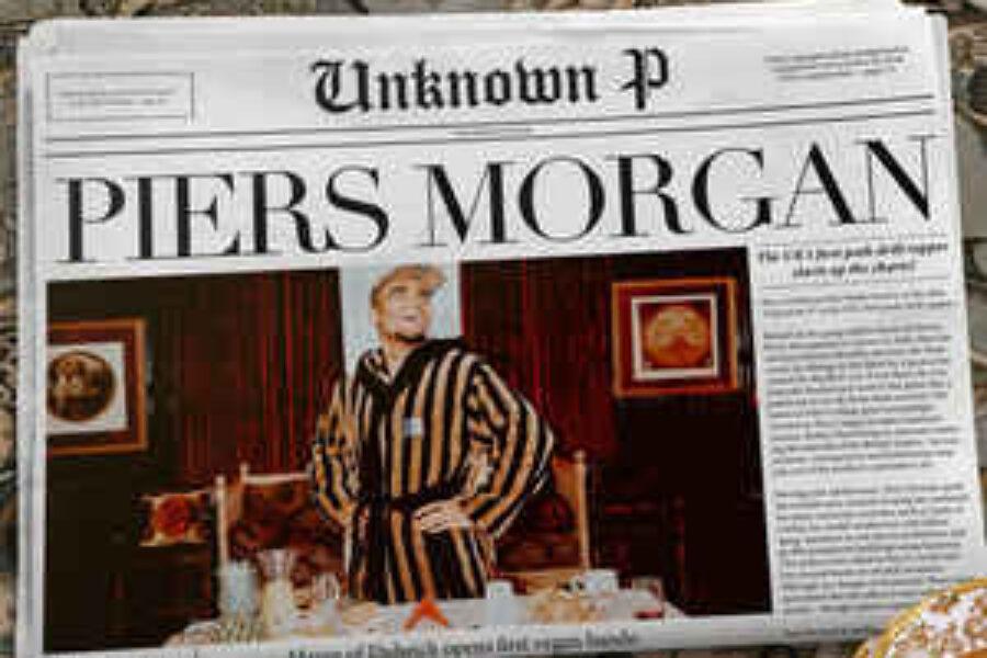 Unkown P<br><span>Piers Morgan (Mastering)</span>